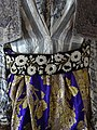 Detail of Embroidered Traditional Dress - Ethnographic Museum - Gjirokastra - Albania (41509439895).jpg