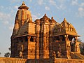 Devi Jagadambi temple belonging to Western Group of Temples at Khajuraho in Madhya Pradesh.jpg