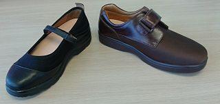 Diabetic shoe Shoes intended to reduce the risk of skin breakdown in diabetics