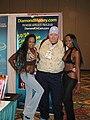 Diamond Jackson, AC Cream, Saphira at Internext convention 1.jpg