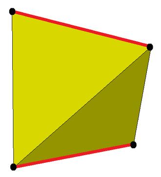 Snub disphenoid - Image: Digonal antiprism