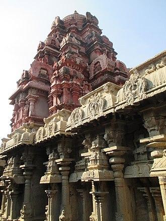 Dindigul - Temple at Dindigul Fort