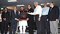 Dinesh Trivedi presented the 56th Railway Week National Awards for Outstanding Services-2011, at a function, in New Delhi. The Minister of State for Railways, Shri Bharatsinh Solanki and the Chairman, Railway Board (1).jpg