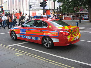 Armed response vehicle - Metropolitan Police Service Diplomatic Protection Group ARV
