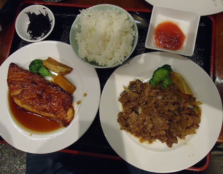 File dishes served at asian restaurant in ny city jpg for Accord asian cuisine ny