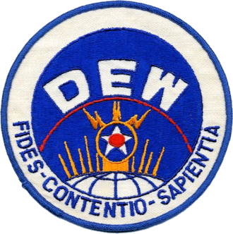 Distant Early Warning Line - USAF Distant Early Warning Line and Distant Early Warning System Office Emblem