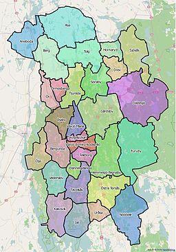 karta växjö kommun Söraby distrikt – Wikipedia karta växjö kommun