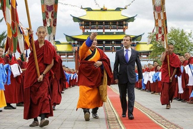 Dmitry Medvedev in Buryatia August 2009-2