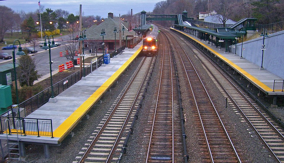 Dobbs Ferry train station