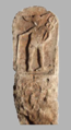 Doclea tombstone depicting God Mercury 2 -3 c AC from Montenegro.png