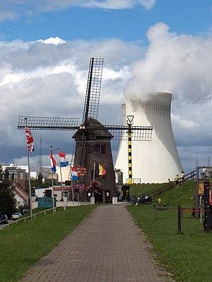 Nuclear reactor, Doel, Belgium