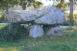 Dolmen de Kermorvant (Moustoir-Ac)