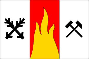 Dolní Rožínka - Image: Dolní Rožínka flag