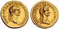 Domitian Domitia aureus.png