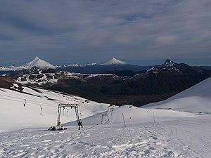 Puyehue National Park - The Antillanca ski resort.