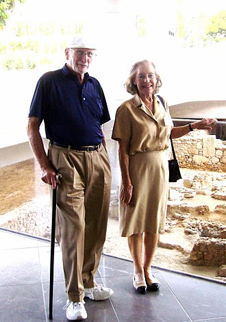 Donald Prell - Donald and Bette Prell, Athens 2014