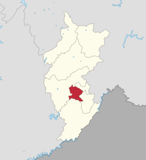 Dongchang District District in Jilin, Peoples Republic of China