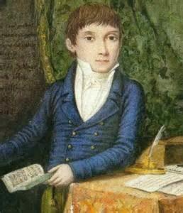 Donizetti as a schoolboy in Bergamo