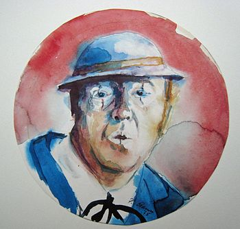 English: picture of Doof Noß Deutsch: Aquarell...