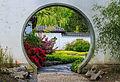 Doorgang in muur. Locatie, Chinese tuin Het Verborgen Rijk van Ming. Locatie. Hortus Haren 02.jpg