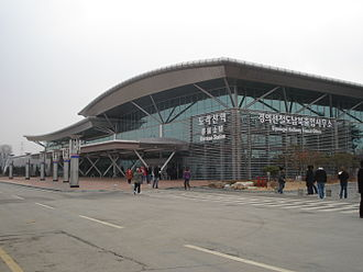 Dorasan Station - Image: Dorasan Station Outside