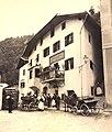 Dorfszene in Waidbruck Südtirol ca 1890.jpg