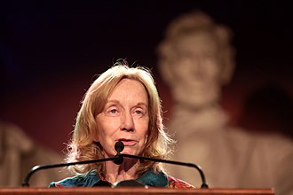 "Doris Kearns Goodwin - Kearns Goodwin at a ""Dinner with Lincoln"" event in November 2017."