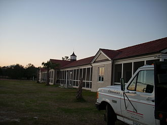 Sapelo Island - University of Georgia dormitories on Sapelo Island