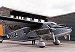 Dornier Do 28D Skyservant at Pferdsfeld air base, Germany, on 26 August 1985.jpg