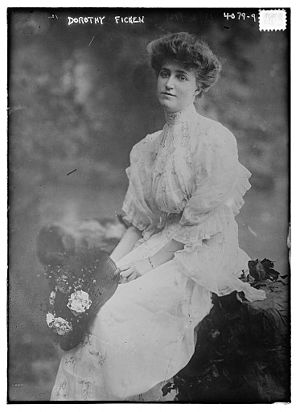 Fred Gwynne - Dorothy Ficken, Gwynne's mother, in 1917
