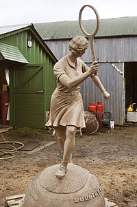 Dorothy Round Little portrait statue in bronze.jpg