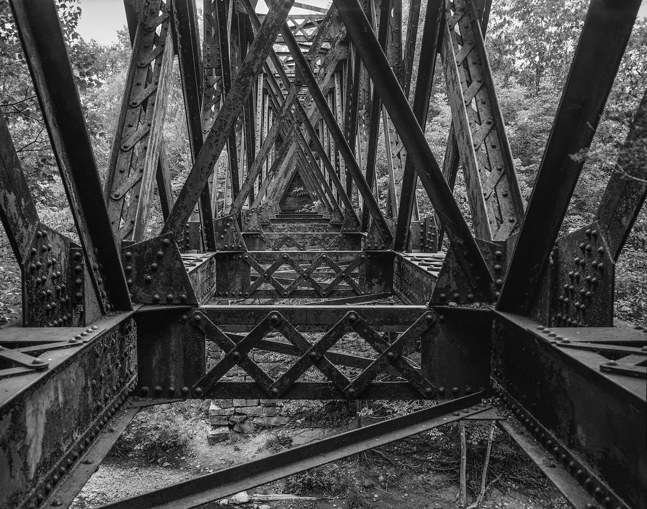 File Double Intersection Warren Truss Bridge Spanning