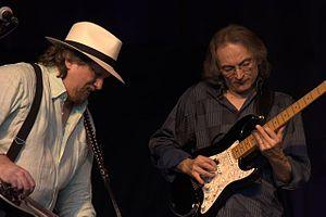 Sonny Landreth - Landreth jams with Jerry Douglas at MerleFest.