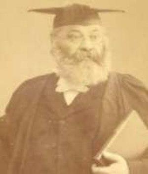 Solomon Marcus Schiller-Szinessy - The Reverend Dr. Schiller-Szinessy, 1888 in Cambridge