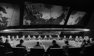 Ken Adam - Adam designed the War Room set for Dr. Strangelove (1964).