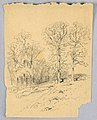 Drawing, Landscape Sketch with a Hilly Country Road, ca. 1881 (CH 18369183).jpg