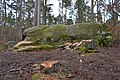 Druidenstein (Mäbenberger Wald), Südansicht.jpg