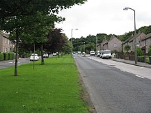 Drum Brae Drive looking towards Corstorphine Hill - geograph.org.uk - 931934.jpg