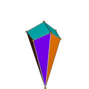 Triangular cupola - Image: Dual triangular cupola