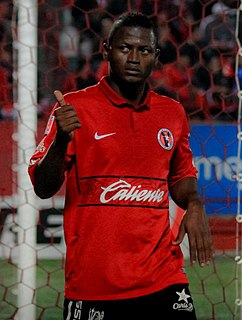 Duvier Riascos Colombian football player