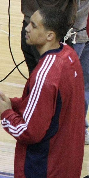 Dwayne Jones (basketball) - Jones in 2008 with the Cleveland Cavaliers