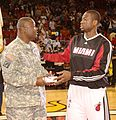 Dwyane Wade HOMEStrong Program Pregame March 2, 2009.jpg