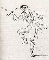 Johannes Kreisler,Zeichnung von E.T.A. Hoffmann (Quelle: Wikimedia)