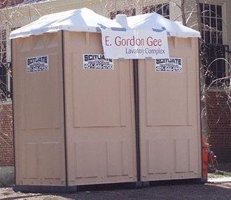 E. Gordon Gee - The E. Gordon Gee Lavatory Complex at Brown.