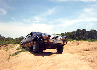 AMC Eagle - AMC Eagle Wagon in off-road duty