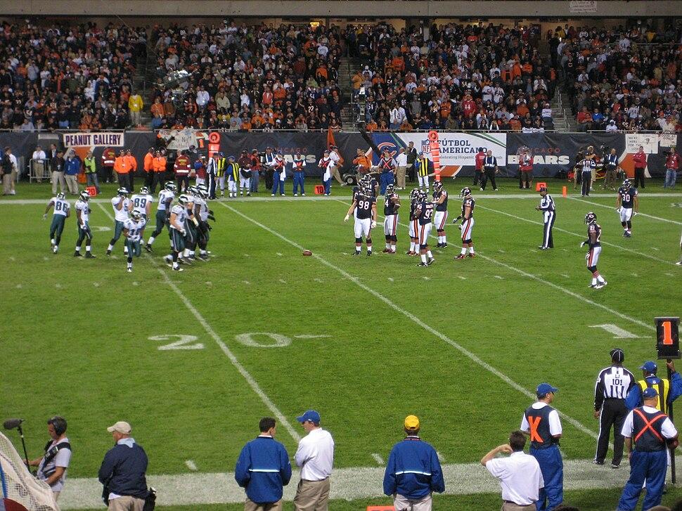 Eagles at Bears 20080928