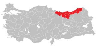 East Black Sea Region (statistical) Region in Turkey
