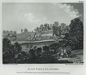 East view of Llanguby