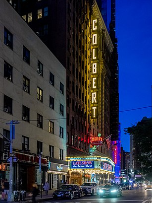 How to get to Ed Sullivan Theater with public transit - About the place
