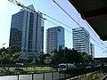 Edifício Passarelli e WTorre Nações Unidas - III - Rua Eugênio de Medeiros, 303 - vista da Estação Pinheiros da CPTM - panoramio.jpg